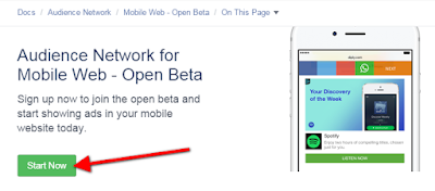 Monetisasi Blog Dengan Menampilkan Iklan Dari Facebook