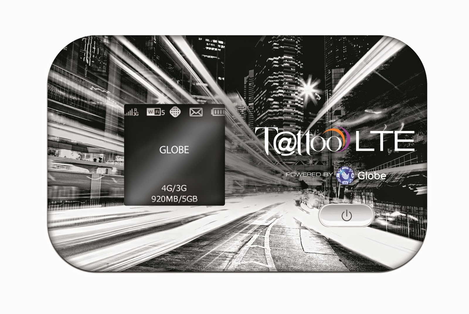LTE Mobile Wifi with Powerbank