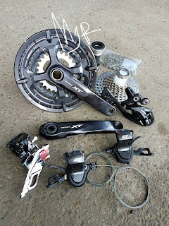 Groupset Sepeda Touring Shimano XT T8000