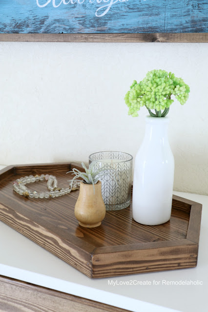 how to build a table top tray