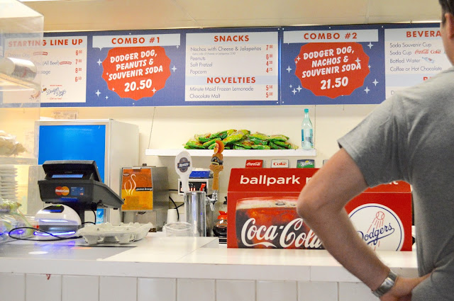 Dodger stadium concession food prices