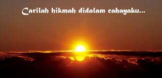 Mutiara Kata-Kata Hikmah Islamiyah