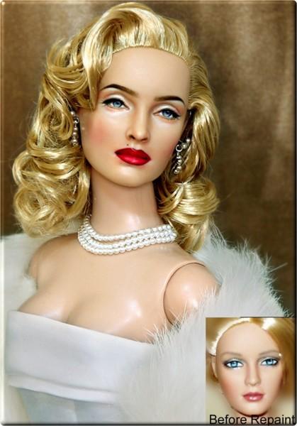 Muñeca o figura de acción con increíble parecido Madonna