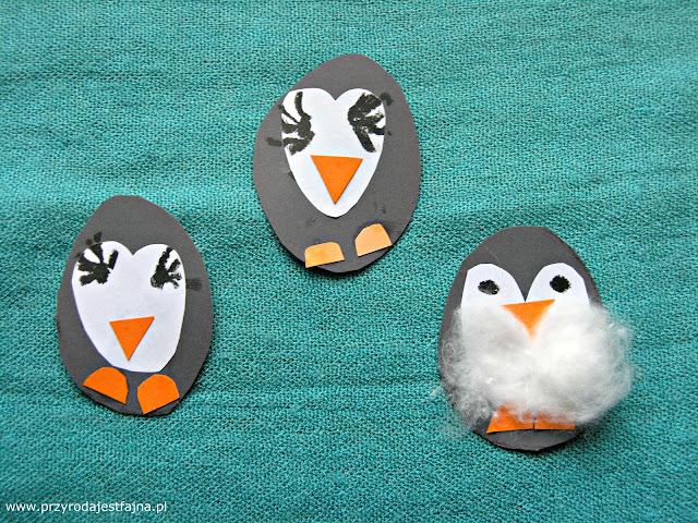 pingwiny, zabawy dla dzieci, książki o pingwinach, DIY, pinguin DIY