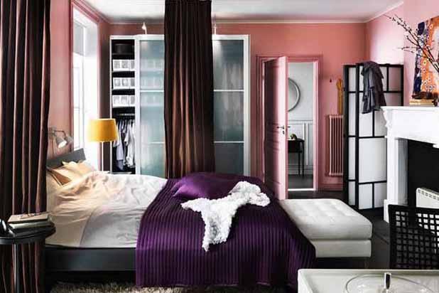 Desain Interior Kamar Tidur Kecil Minimalist