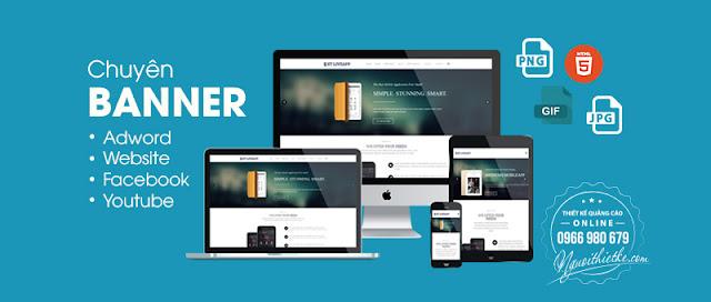 Thiết kế banner online chuyên nghiệp như civer fanpage, ảnh bìa facebook, banner slide web, zalo, banner adwword,...