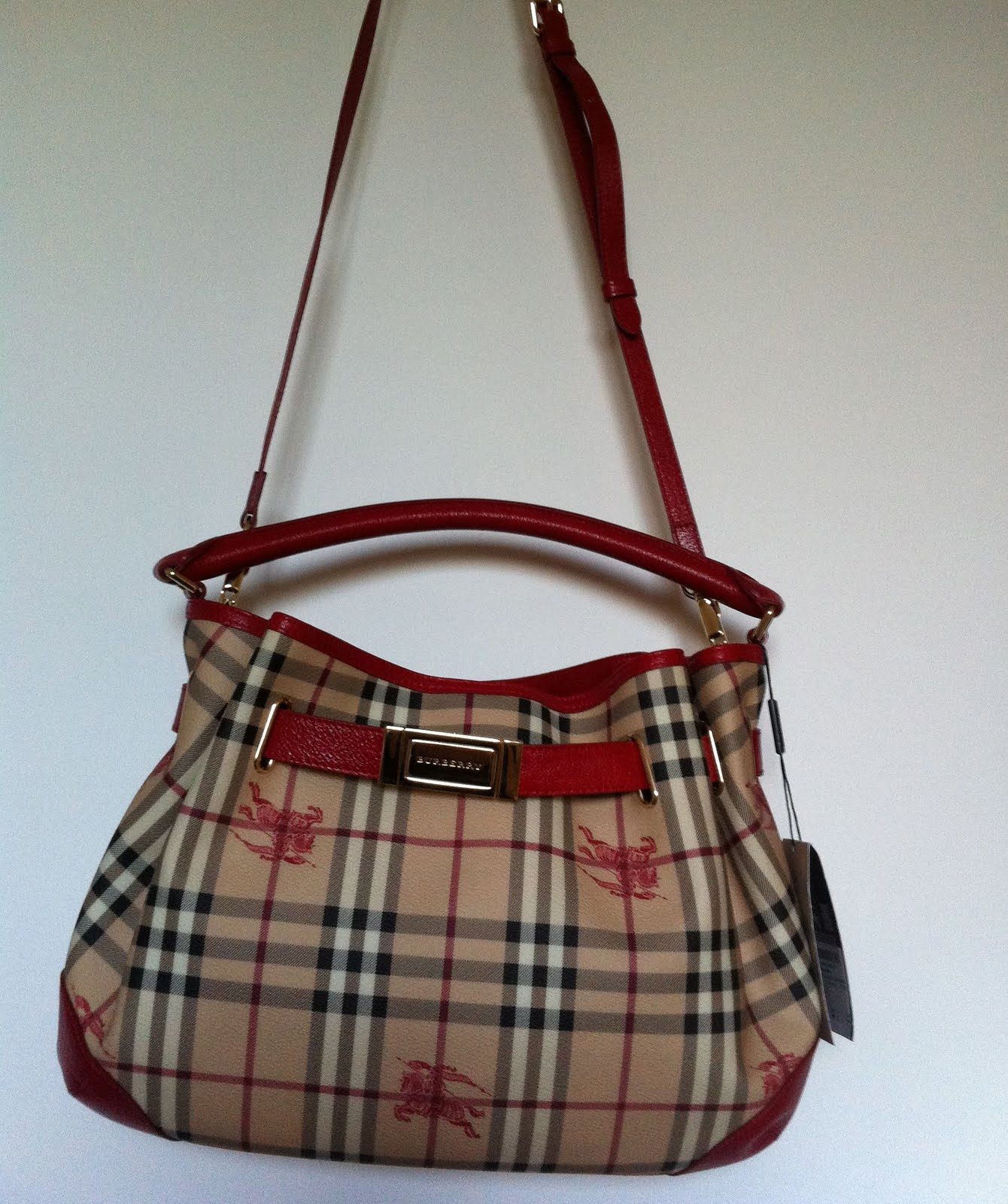 Discounted Genuine Handbags: (New) Authentic Burberry Hobo ...