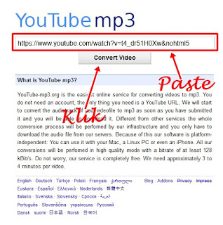 convert video youtube menajdi mp3