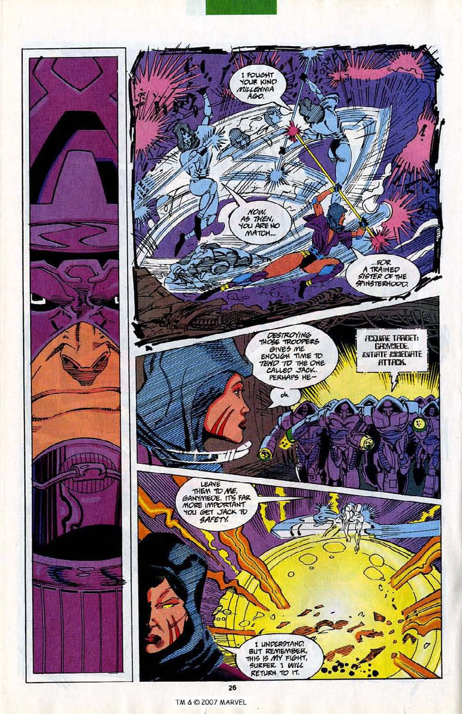 Read online Silver Surfer (1987) comic -  Issue #82 - 28
