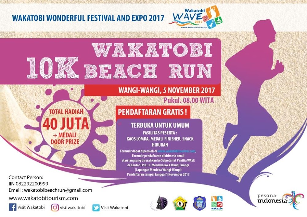 Wakatobi Beach Run • 2017