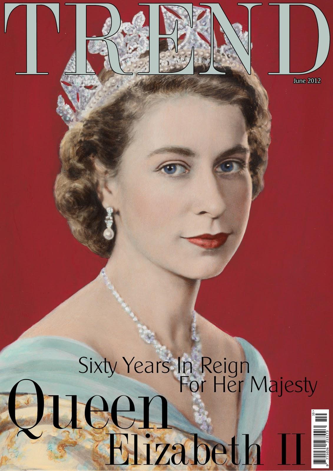 TREND: June 2012: Cover Story: Her Majesty Queen Elizabeth II