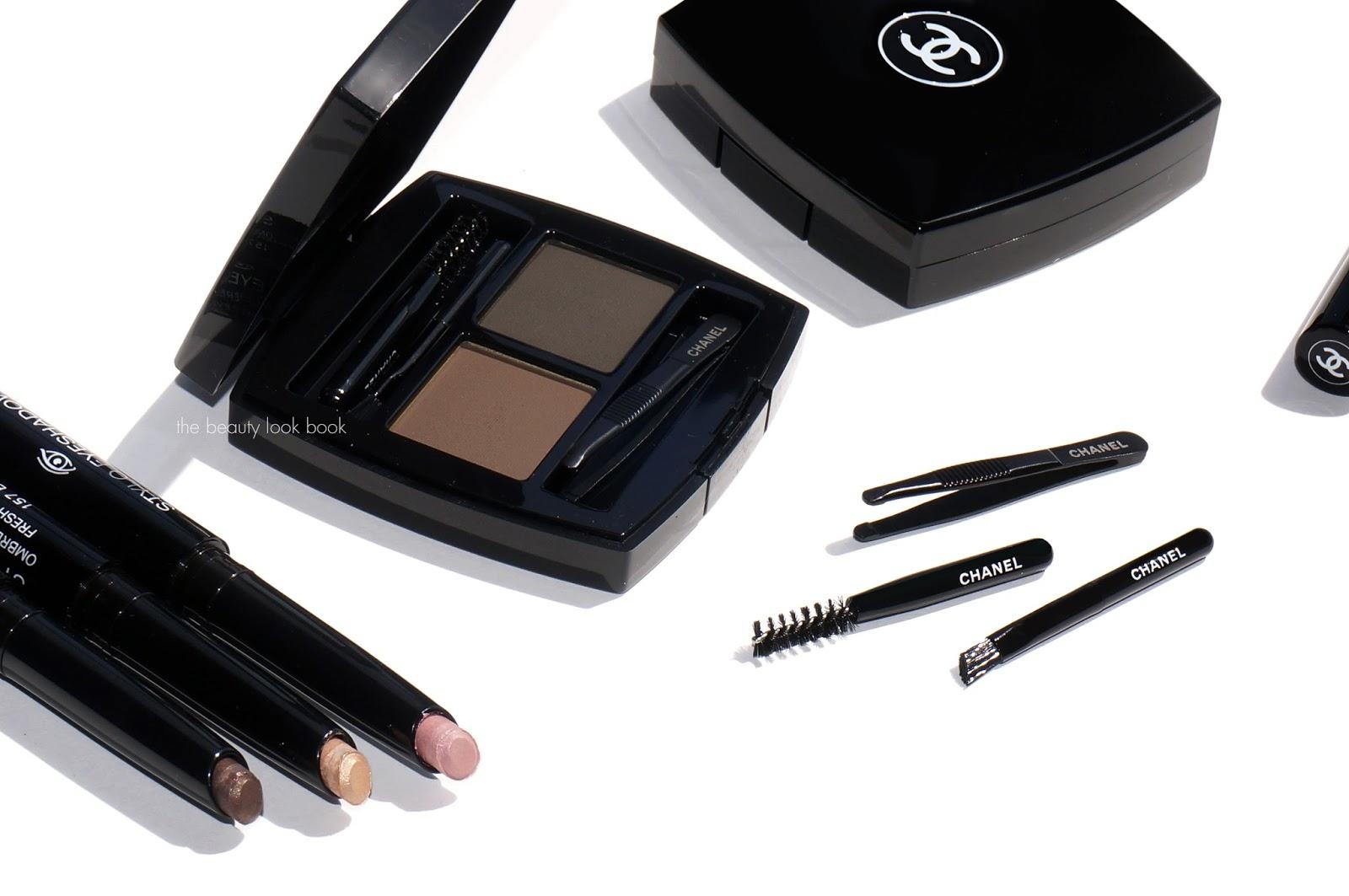 New Chanel Stylo Fresh Effect Eyeshadows And La Palette Sourcils De
