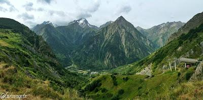 panorama Les deux Alpes