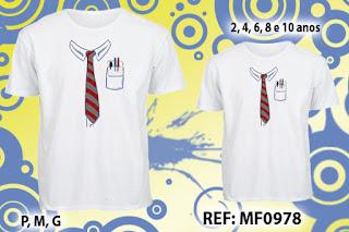 Tal Pai Tal Filho Camisetas Personalizadas Gravata