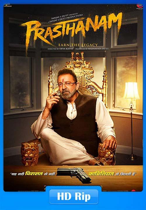 Prassthanam 2019 Hindi 720p PreDVDRip x264 | 480p 300MB | 100MB HEVC
