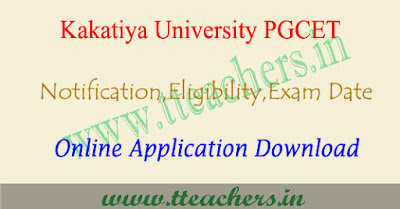 KU PGCET 2019 notification, online apply, exam date, kucet