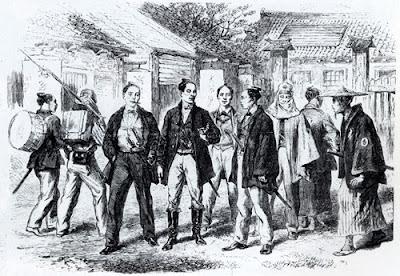 sketsa sejarah tentang samurai di era restorasi meiji