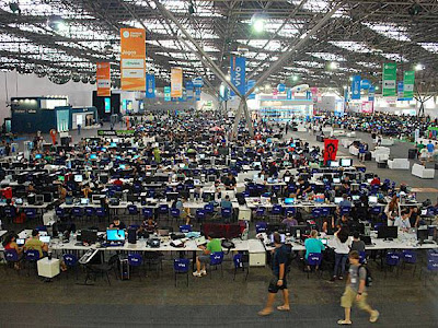 Arena do Campus Party Brasil 2012