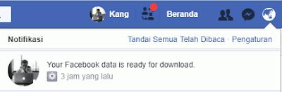 Menghapus akun facebook memang hal yang gampang Cara Mengunduh Semua Data yang Anda Upload di Facebook