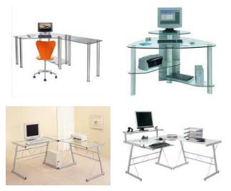 Perfect Glass Corner Desk Collections