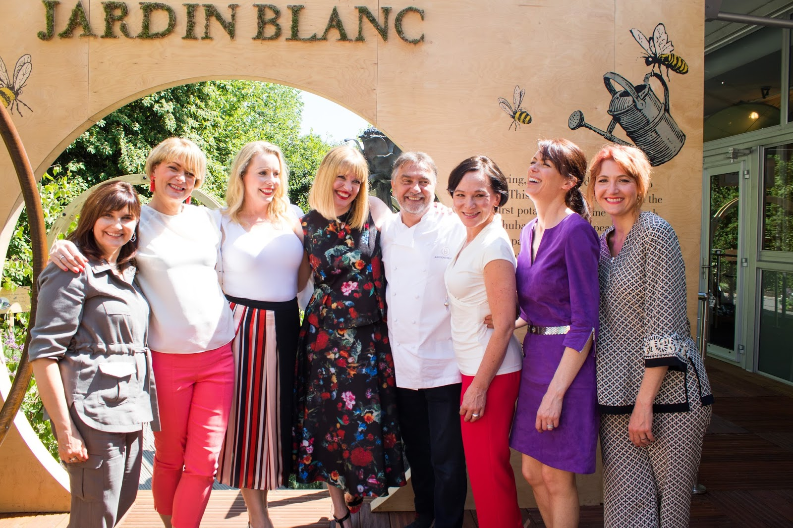 What Lizzy Loves, The Over 40 Collective and Raymond Blanc at The Chelsea Flower Show 2017