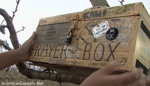 Caja de oración