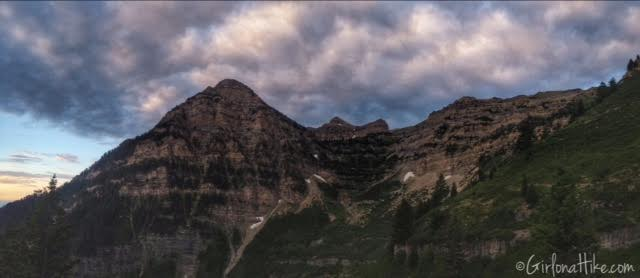 Hiking Mt. Timpanogos via Aspen Grove, Primrose Cirque