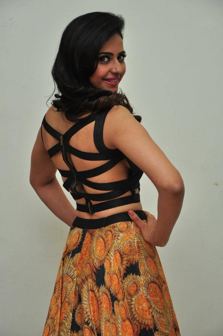 Rakul Preet Singh Photos In Black Dress