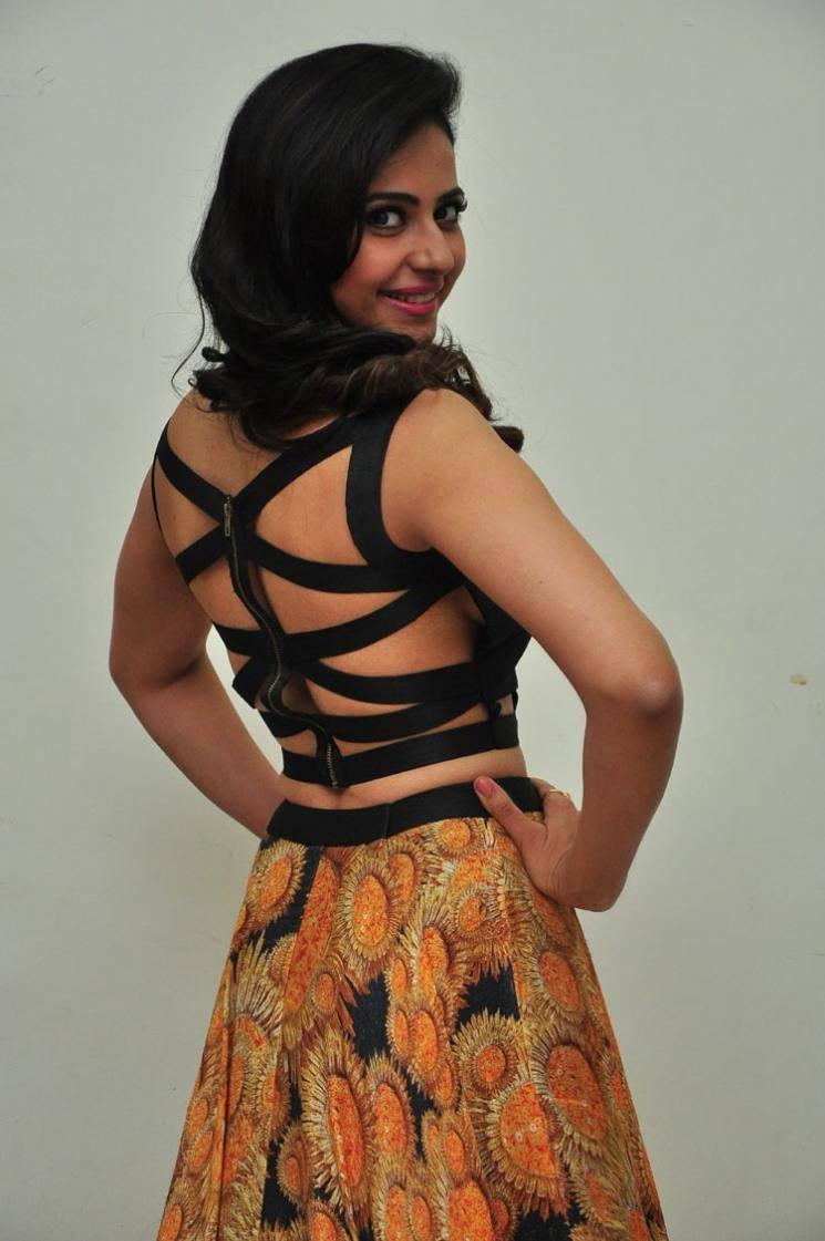 Rakul Preet Singh Photos In Black Dress