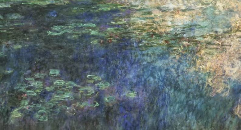 Lets Make A Painting Paint Monets Waterlilies