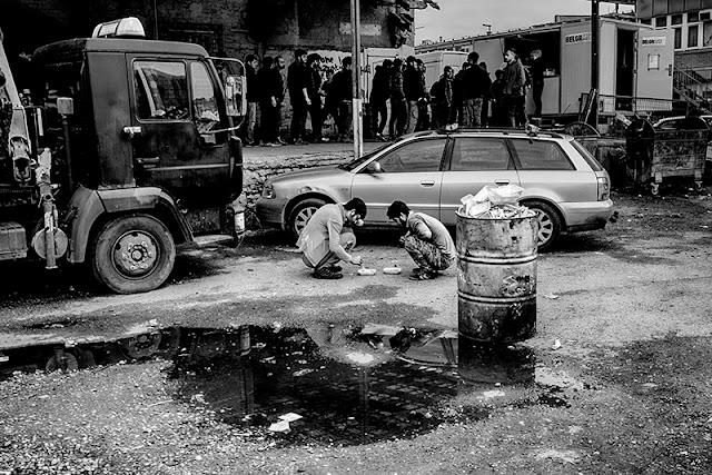 Belgrade, refugees