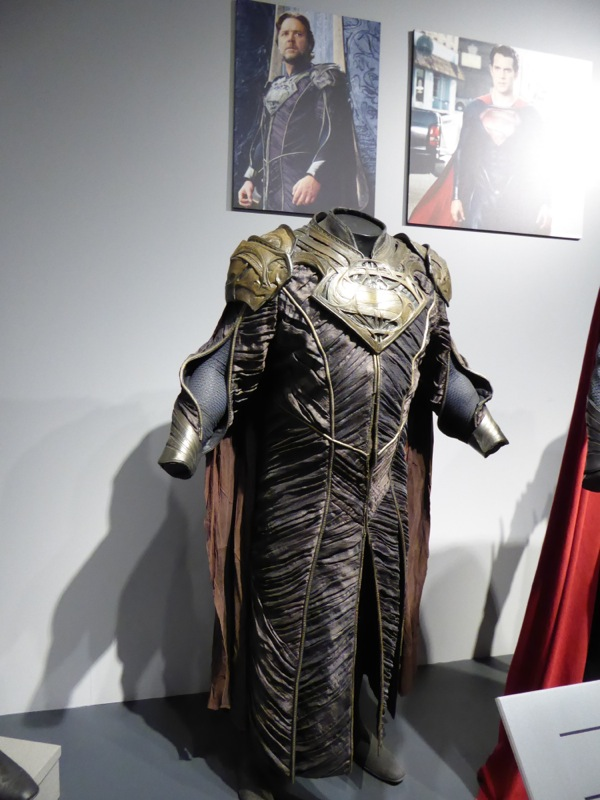 Russell Crowe Man of Steel Jor-El movie costume