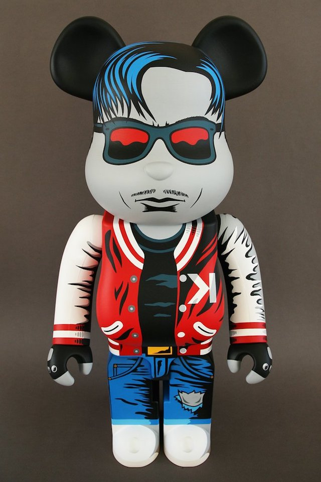 297310ed16e Kavinsky 1000% BEARBRICK Custom by FAKIR Design for March 19 Release