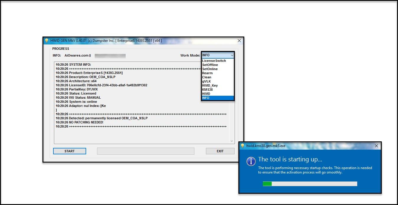 PHtechtools: Hwid Gen Mkv & Kms38 Gen V0 40 01 - Windows 10 License