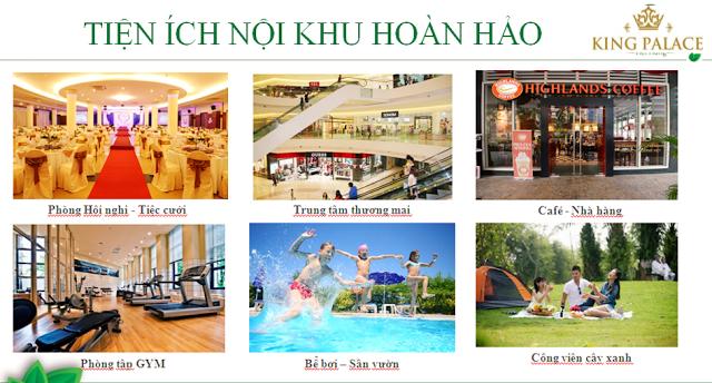 tiện ích hoàn hảo khu chung cư 108 Nguyễn Trãi