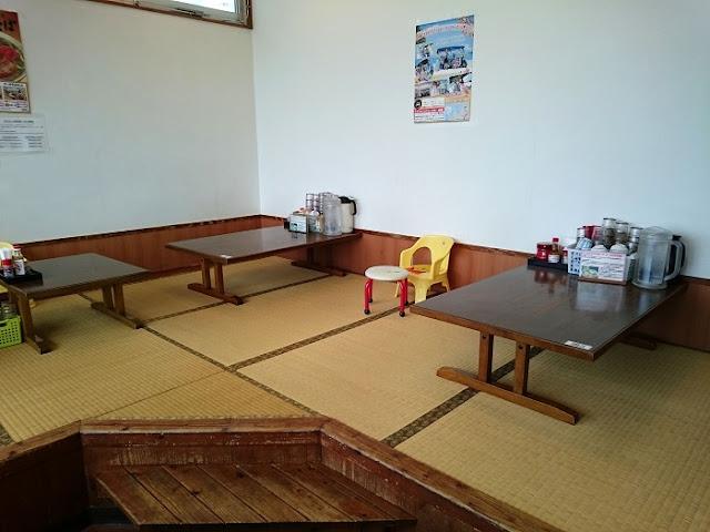 自家製麺 沖縄そば専門店 なかむらそばの店内の写真