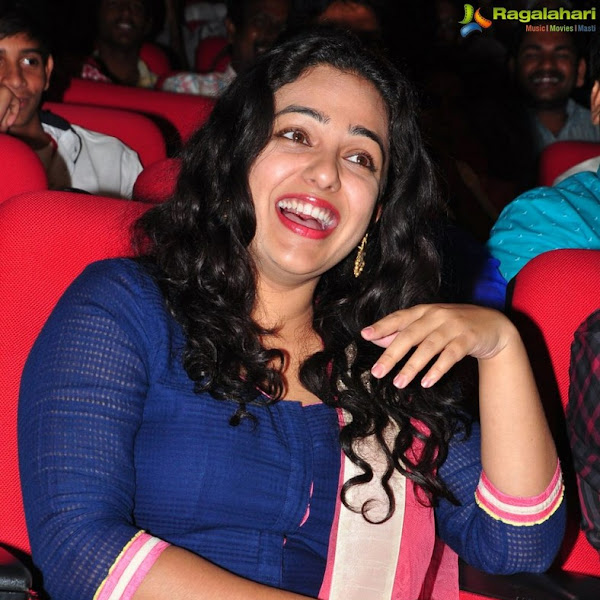 Nithya Menon latest photos from Okka Ammayi Thappa audio launch