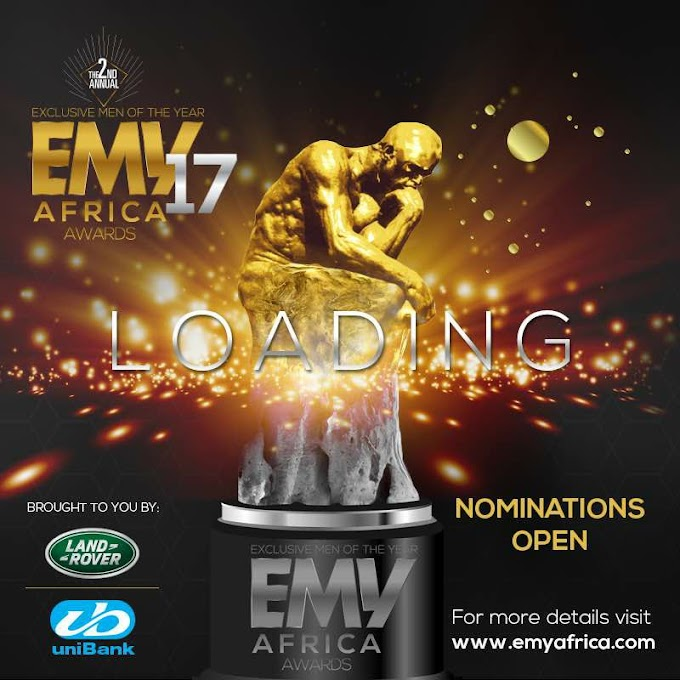 Exclusive Men of the Year (EMY) Africa Awards call for nominations