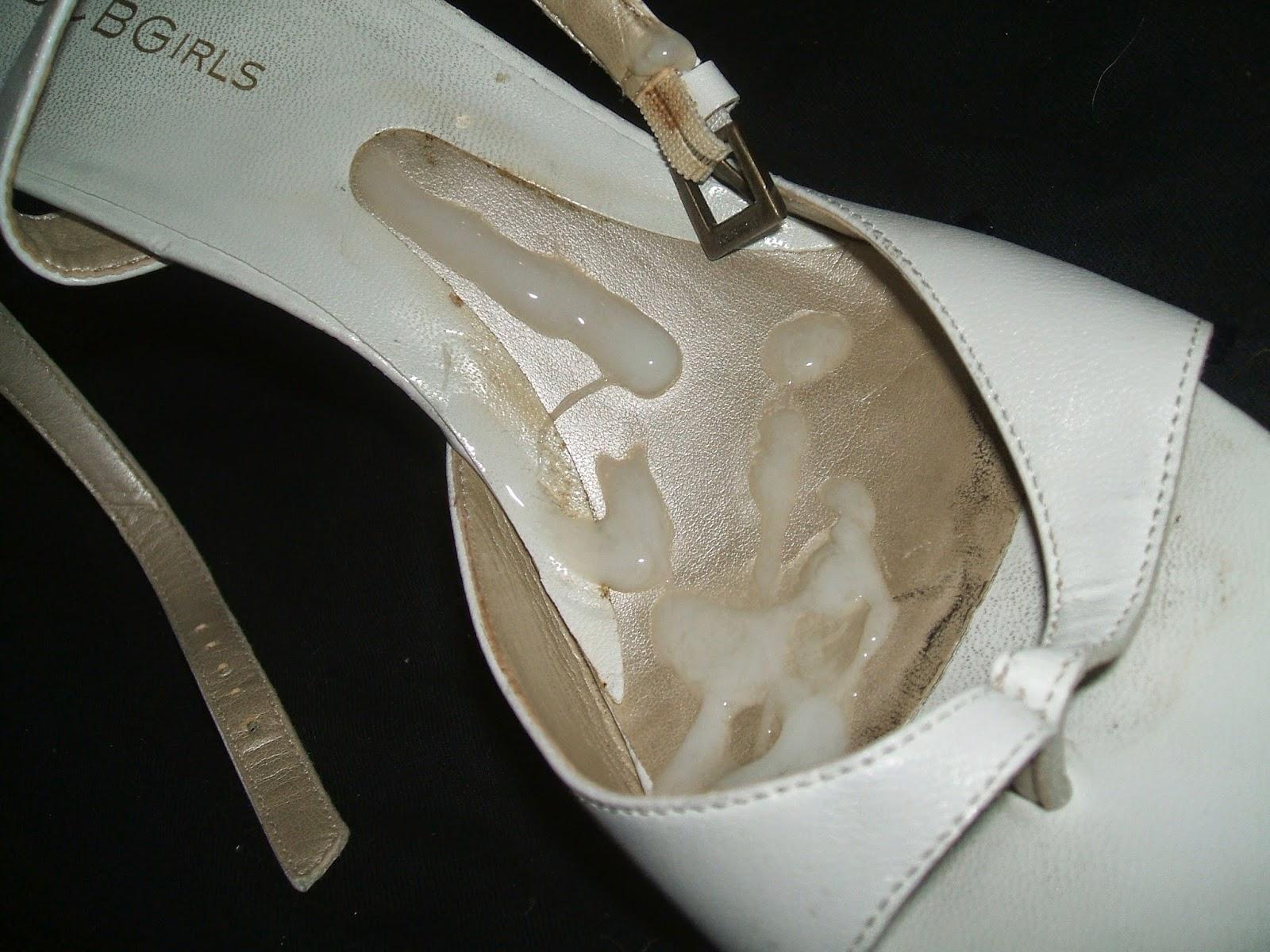 High-Heel Fetisch Bilder: Die weißen High Heels der