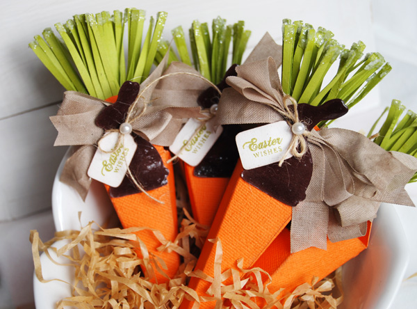 Thoughts of a Cardmaking Scrapbooker!: Easter Carrots and a Tutorial!