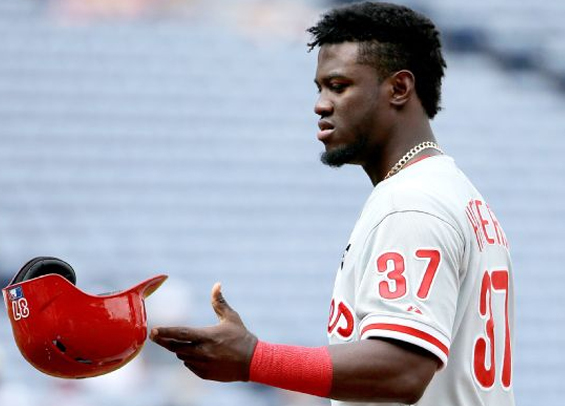 Odubel Herrera homers, but mental miscues hurt Phillies