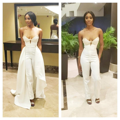 Check out Toni Tones fabulous outfit to the 'it's her day' premiere (photos)