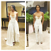 Check out actress Toni Tones fabulous outfit to the 'Premiere'