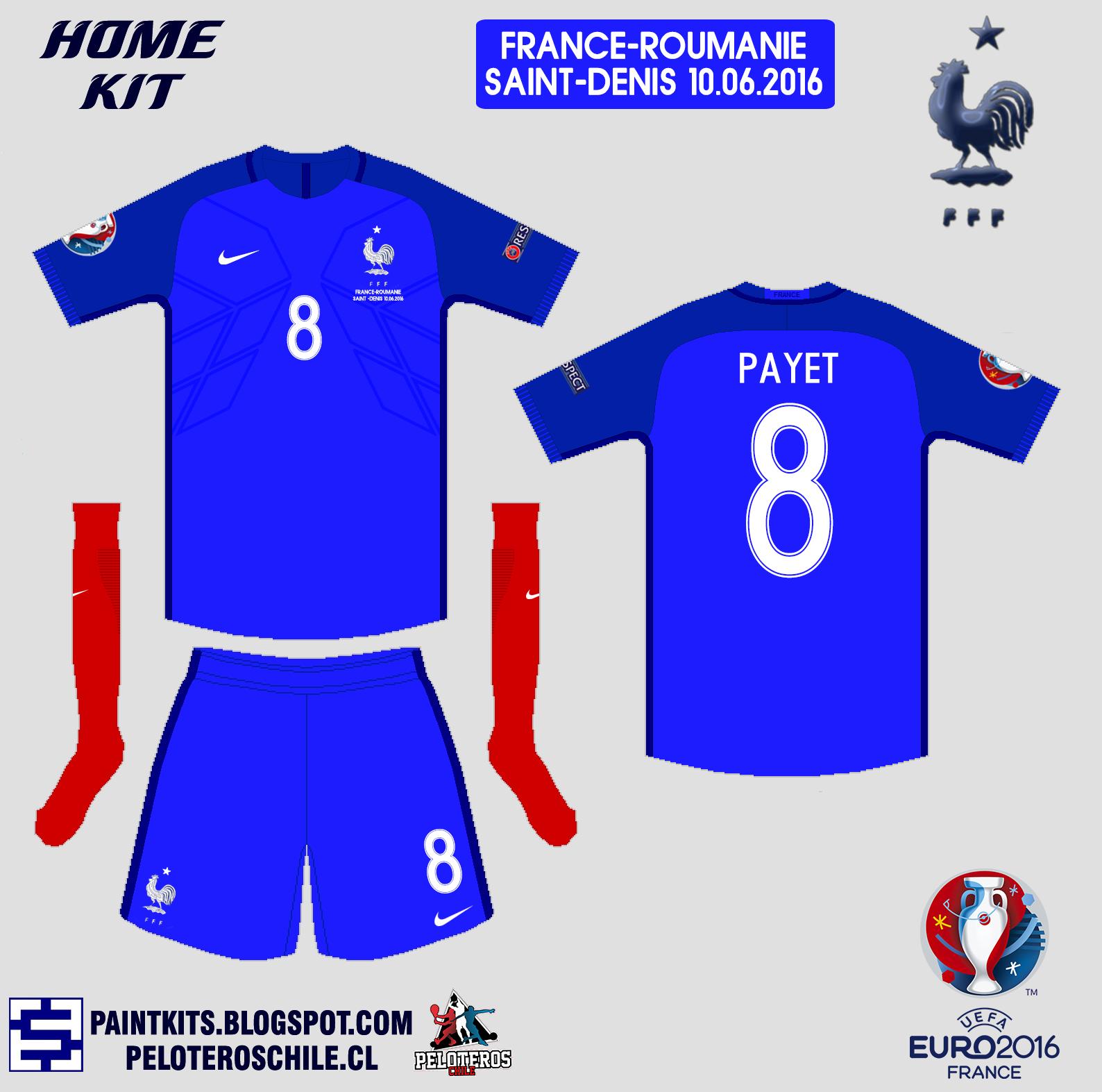 Paint Kits  Selección de Francia b28e0d3c073b7