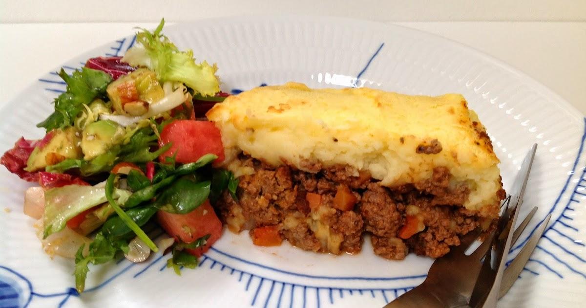 Evas Køkken: Oksekød i fad med bagt kartoffelmos