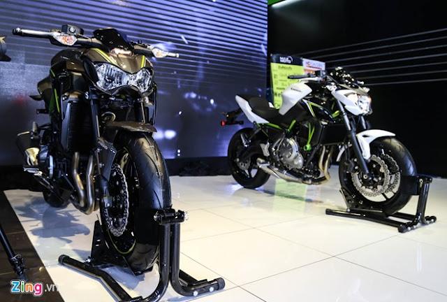 Nakedbike hạng trung Kawasaki Z900 và Z650 vừa chính thức bán tại Việt Nam với mức giá 288 và 218 triệu đồng
