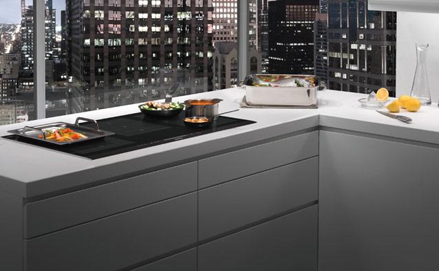Inducci n sin zonas la inducci n flexible - Cocinas con plancha incorporada ...