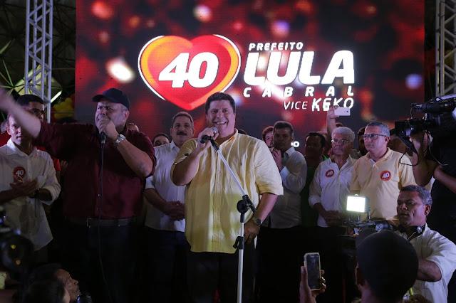 Magistrado pede suspensão do título de eleitor de Lula Cabral