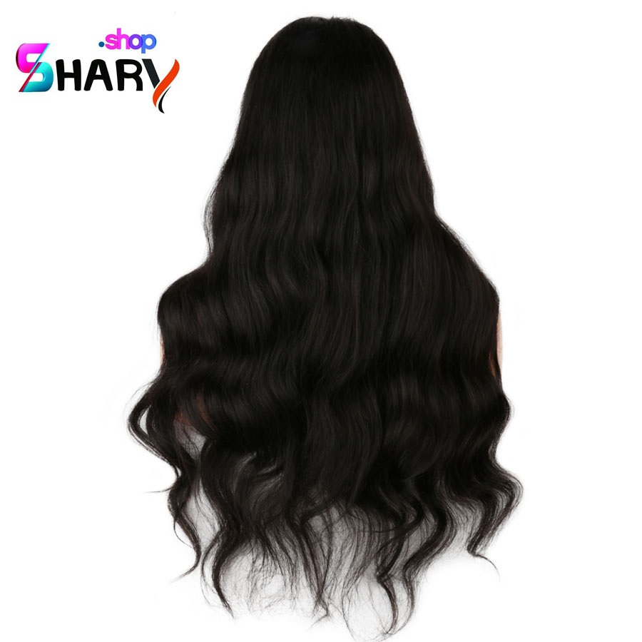 db600de9d8100 باروكة ويفى شعر مموج شعر طبيعى برازيلى طول 20 انش بجذور 360