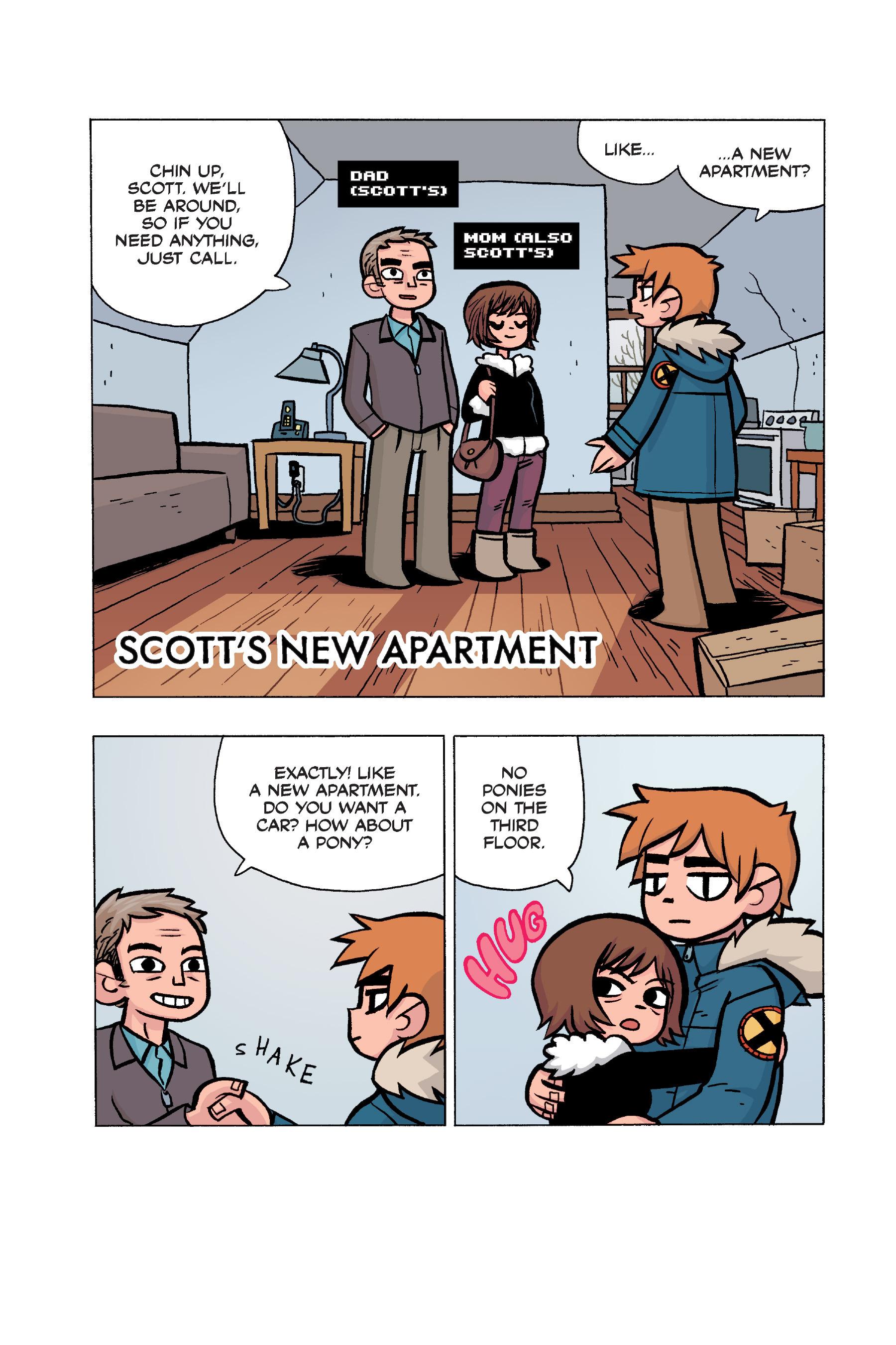 Read online Scott Pilgrim comic -  Issue #5 - 166